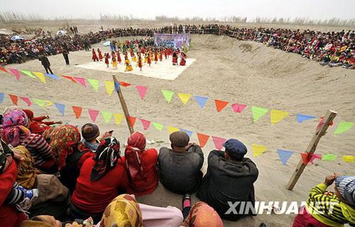 维吾尔族诺鲁孜节-信奉伊斯兰教的少数民族节庆