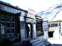 寺庙开办的饭馆