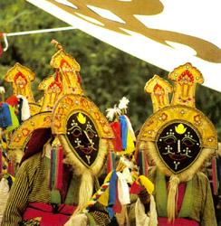 藏族雪顿节的简介
