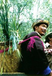 过望果节的林芝农民