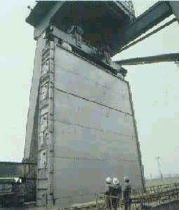 中国最大尺寸的平板闸门