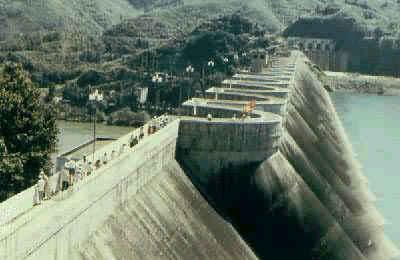 中国最高的混凝土连拱坝