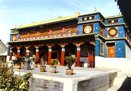 汉藏混合式寺庙-宗教
