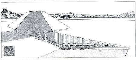 隋唐贵族陵墓-陵墓工程